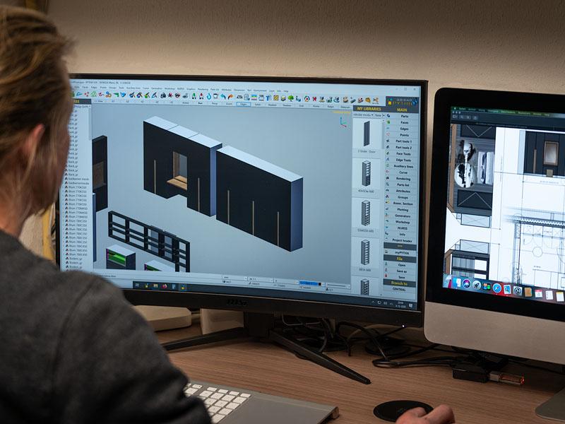 werkwijze: ontwerpen in 3D